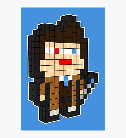 3D PIXEL - DOCTOR WHO (DAVID TENNENT) Photographic Print