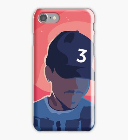 Chance the Rapper - Coloring Book with Background iPhone Case/Skin