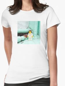 ::: { THE LADY } ::: Womens Fitted T-Shirt