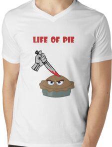 Life of Pie Mens V-Neck T-Shirt