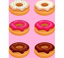 My Six Pack... of Donuts Photographic Print