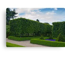 Formal gardens Canvas Print