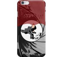 Tin Tin vs James Bond iPhone Case/Skin
