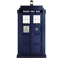 Tardis - Doctor Who Photographic Print