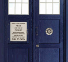 Tardis - Doctor Who Sticker
