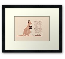 Did You Know Framed Print