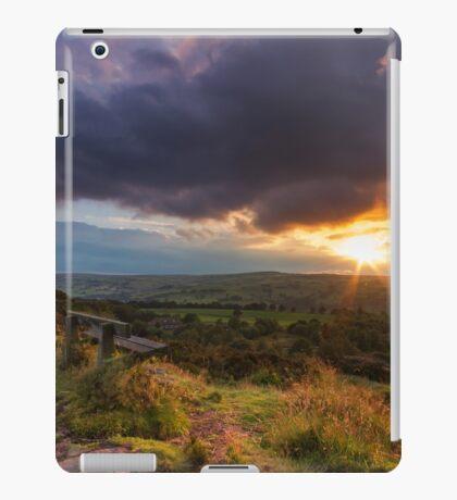 Yorkshire Sunset  iPad Case/Skin