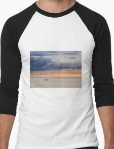 Dawn golden sky  Men's Baseball ¾ T-Shirt
