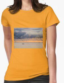 Dawn golden sky  T-Shirt