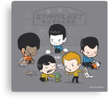 Starfleet Daycare Canvas Print