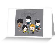Starfleet Daycare Greeting Card