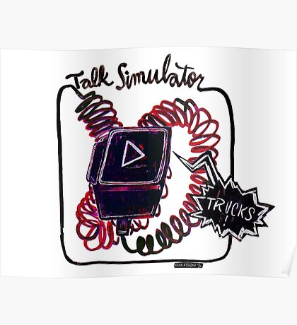 Talk Simulator Podcast  Poster