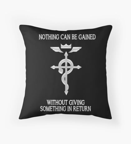 Fullmetal Alchemist - First Law Throw Pillow
