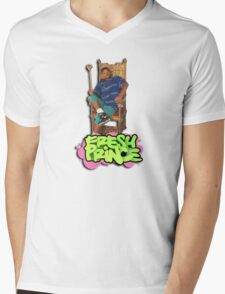 Fresh Prince of Bel Air Mens V-Neck T-Shirt