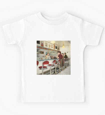 Cafe - The local hangout 1941 Kids Tee