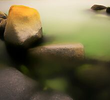 Green Lagoon by Angelika  Vogel