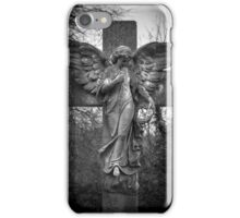 Angel on a Cross iPhone Case/Skin