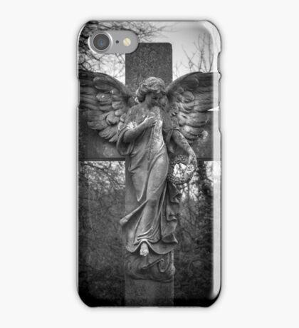 Angel on a Cross iPhone Case/Skin