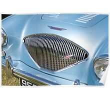 Austin Healy 100 (grille) Poster