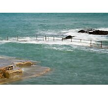 Natural Pool in Guernsey Photographic Print