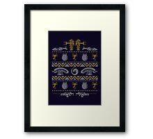 A Christmas Bug Hunt Framed Print