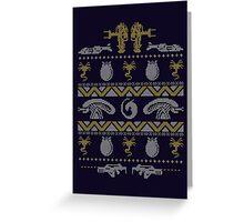 A Christmas Bug Hunt Greeting Card