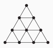 Tetraktys, The Unit Of Four - Pythagoras  Kids Clothes