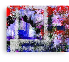Burned Oil - Abstract Art Canvas Print