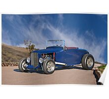 1930 Ford 'Hot Rod' Roadster Poster