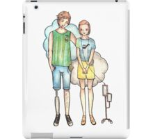 Cancer patients iPad Case/Skin