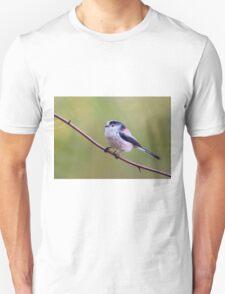 Long Tailed Tit  (Aegithalos caudatus)  T-Shirt