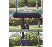 Barbie on the swing Photographic Print