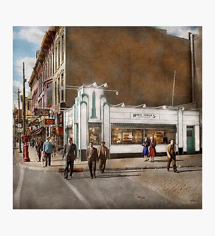 City - Amsterdam NY - Hamburgers 5 cents 1941 Photographic Print