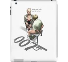 James Bond Parody iPad Case/Skin