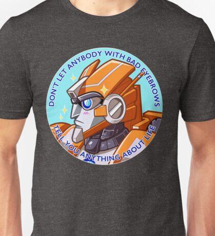 Bad Eyebrows Unisex T-Shirt