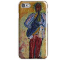 Jazz (from original oil painting) iPhone Case/Skin