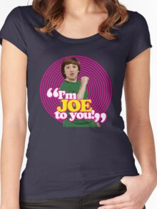 I'm Joe To You! - Pink Windmill Kids Women's Fitted Scoop T-Shirt