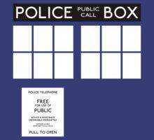 Doctor WHO - Tardis by Iskanders