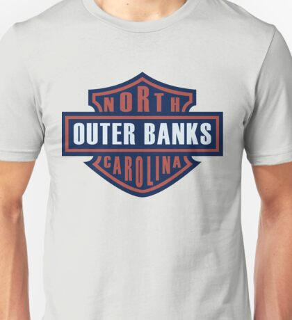 Outer Banks North Carolina Steel Horse Unisex T-Shirt