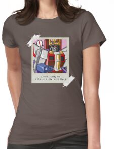 Starscream Polaroid Womens Fitted T-Shirt