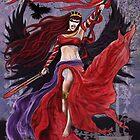 Celtic Goddess - The Morrigan by Dan Goodfellow