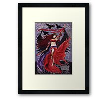 Celtic Goddess - The Morrigan Framed Print