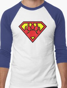 Super Bear Men's Baseball ¾ T-Shirt