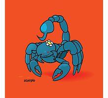funny zodiac/scorpio Photographic Print