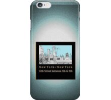 Greenwich Village Roofscape iPhone Case/Skin