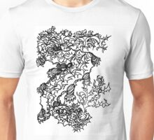 Fierce Firebreathing Dragon Unisex T-Shirt