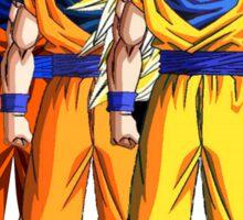 Goku Saiyan Sticker