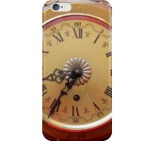old clock of wall iPhone Case/Skin