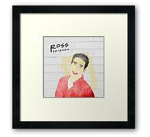 Ross Geller Friends TV Show Series Framed Print