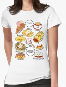 221b Bakery Street Womens Fitted T-Shirt